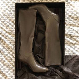 Cole Haan Joana Air stretch riding boot 8 brown